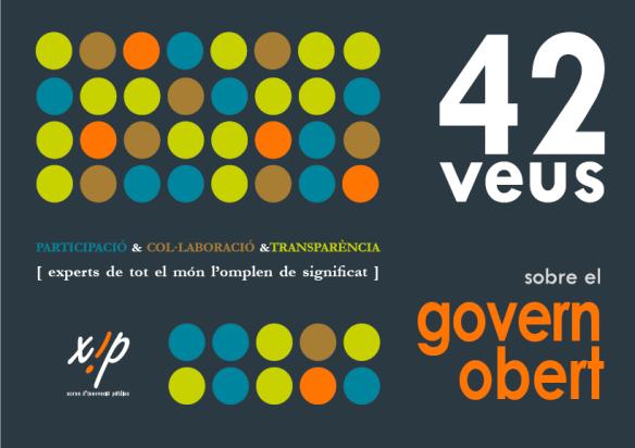 Llibre '42 veus sobre el govern obert'